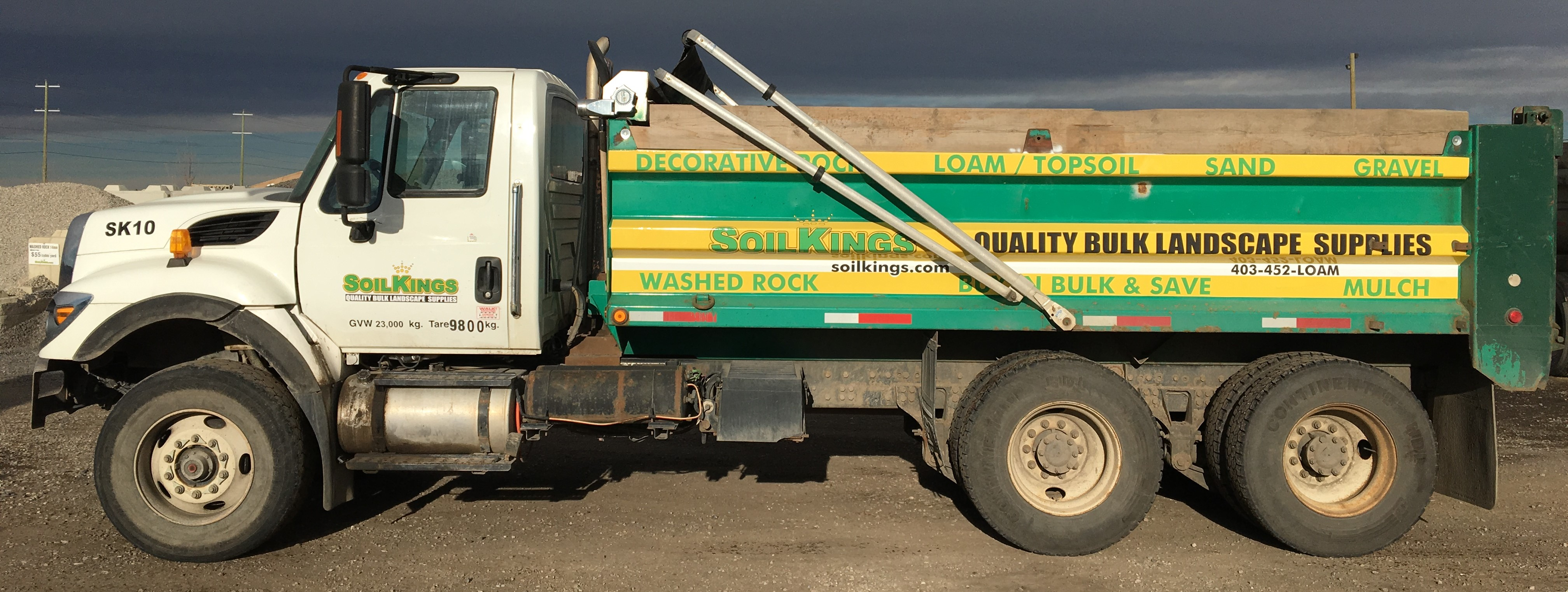 Product Delivery | Soil Kings | Calgary